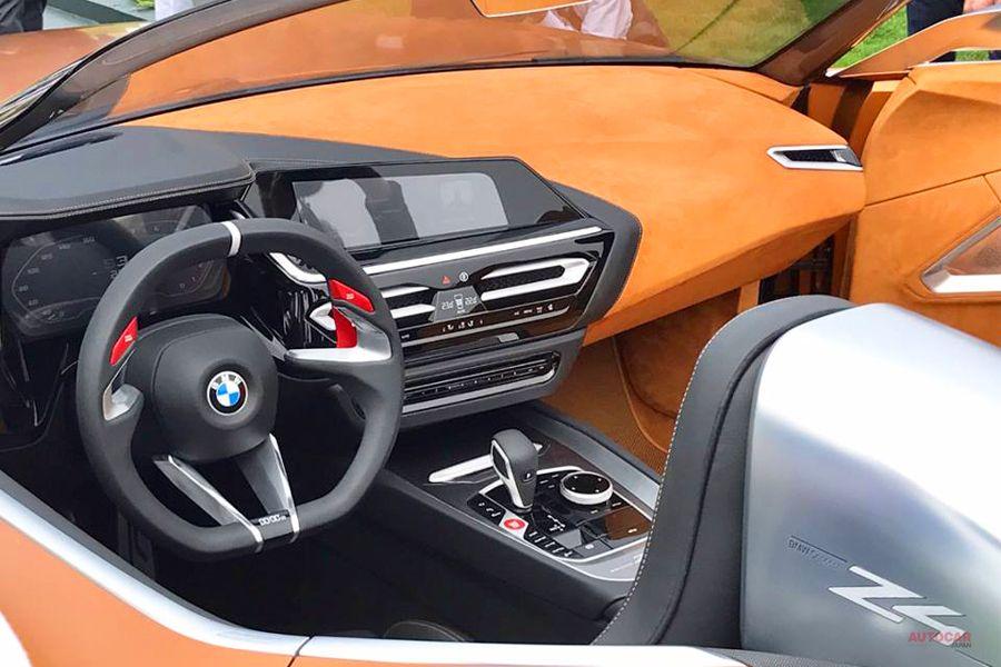 BMWコンセプトZ4 インテリア