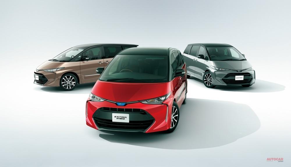 10月に販売終了するトヨタ・エスティマ。