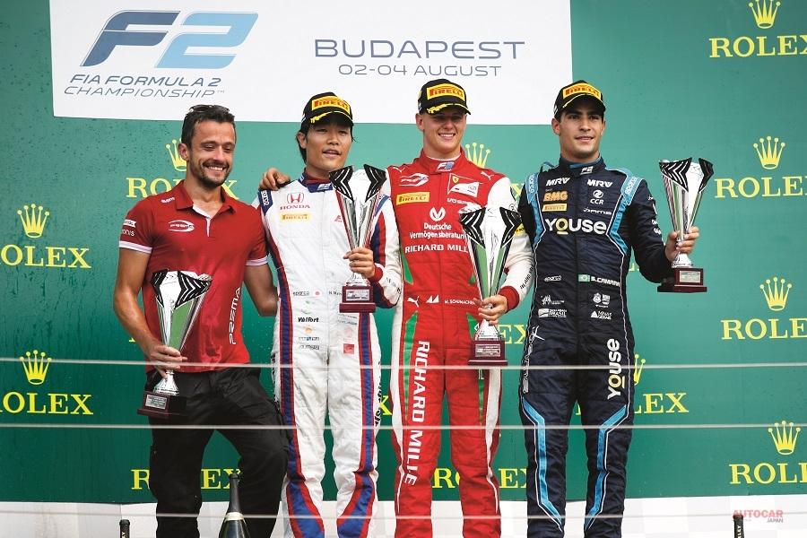 ミックのF2初勝利はハンガリーで実現した。