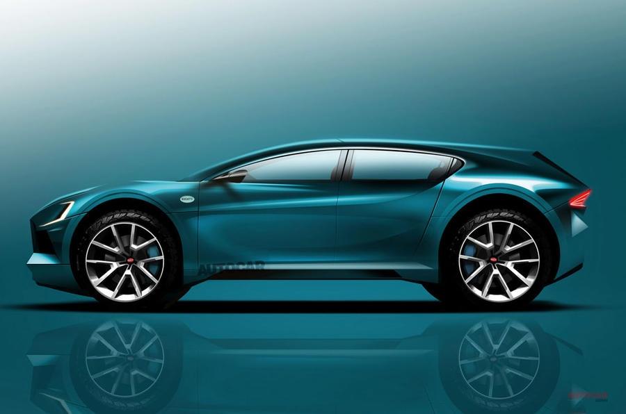 ブガッティ 第2のモデル AUTOCAR予想図