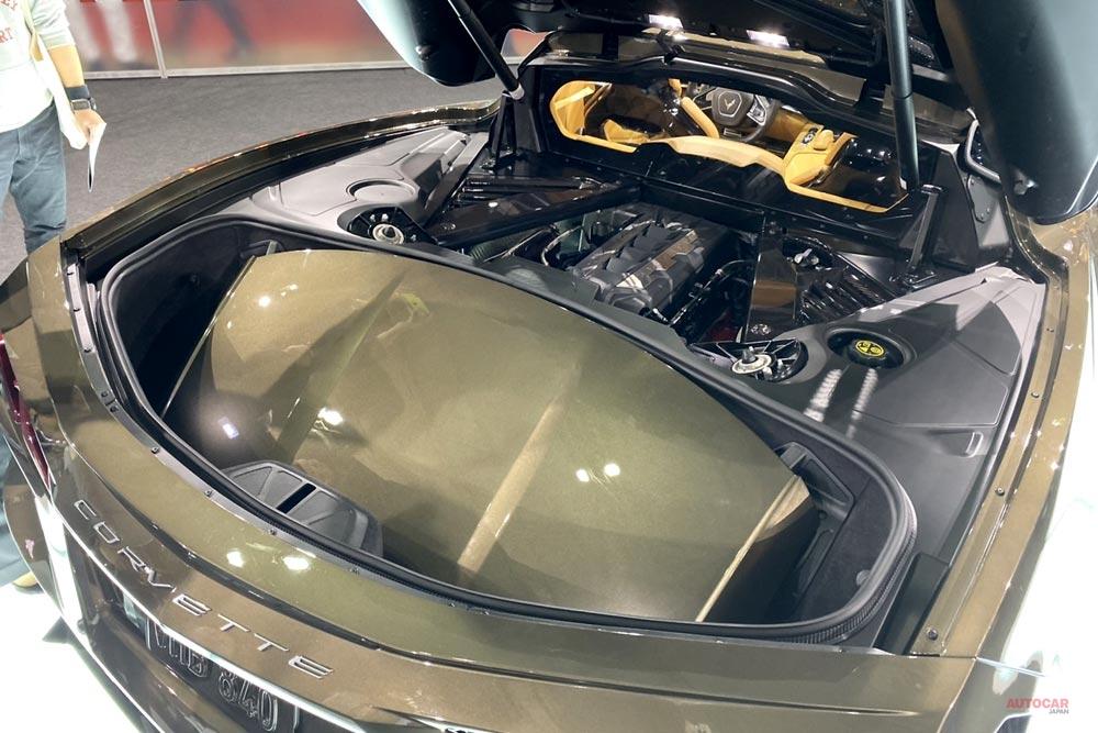 新型シボレー・コルベット、東京オートサロン2020展示車