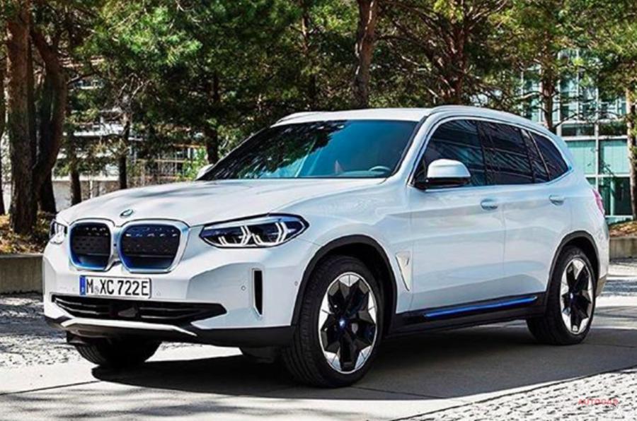 BMW iX3 最新リーク画像