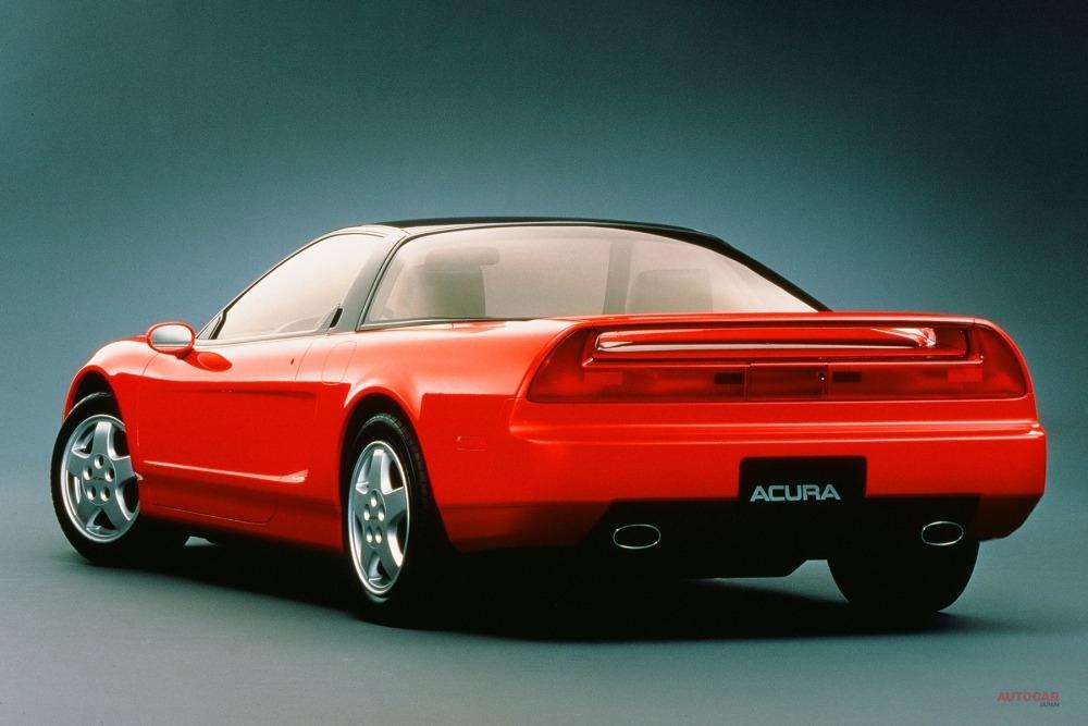 1989年発表のプロトタイプ NS-X。SとXの間にハイフンが入っていた。