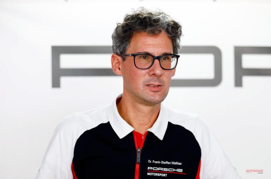 ポルシェ・スポーツカーの責任者、フランク・ステフェン・ウォライザー