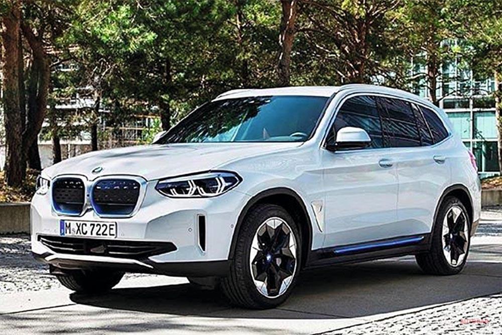 BMW iX3 リーク画像