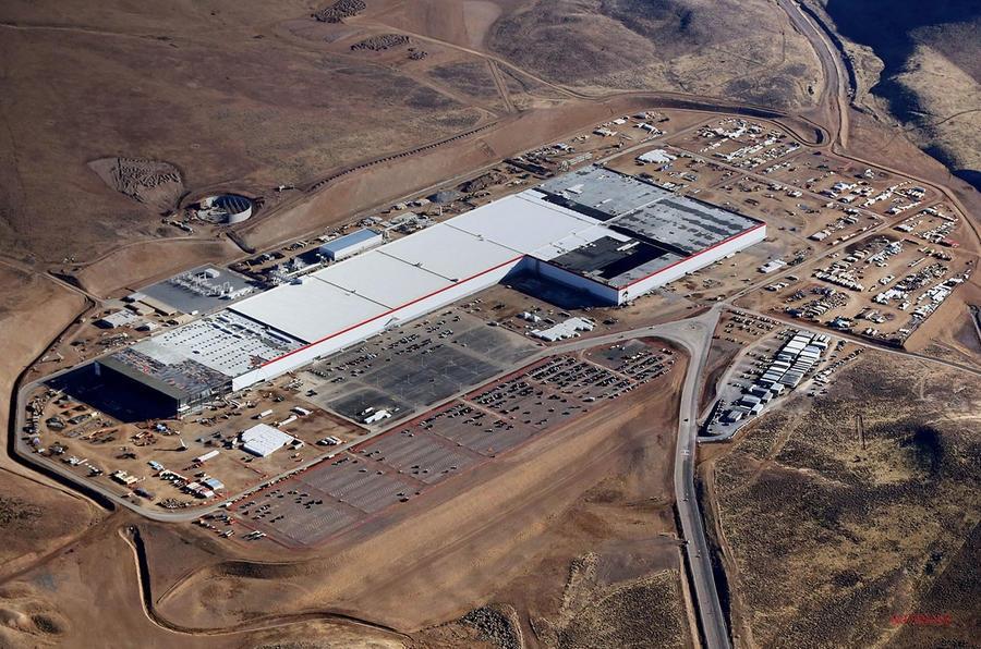 テスラ バッテリー・ギガファクトリー ネバダ工場