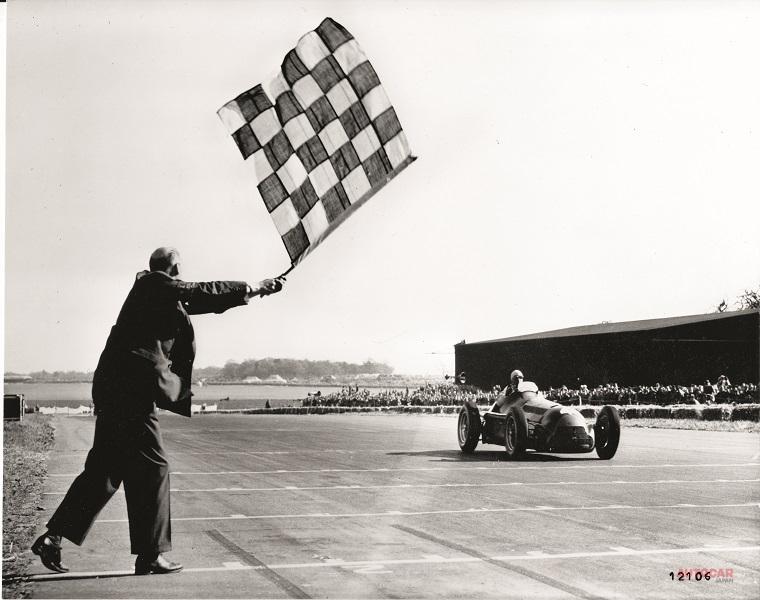 初めて行われたF1レースでアルファ・ロメオは表彰台を独占している。
