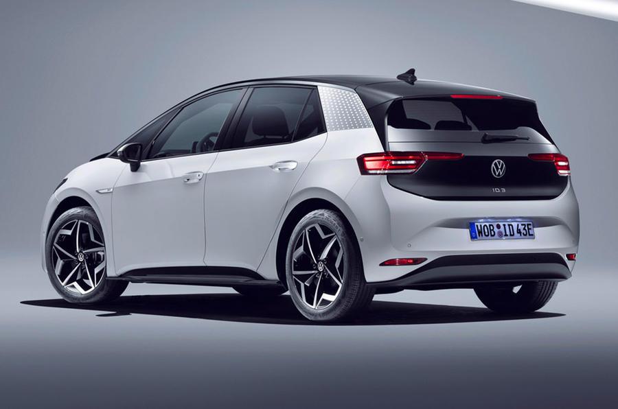 欧州で受注が始まった新型EV「フォルクスワーゲンID.3」。