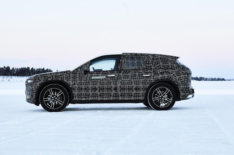 BMW iネクストのプロトタイプ