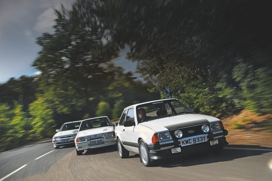 フォード・エスコートRS 1600i(3代目)/フォード・エスコートRSターボ(4代目)/フォード・エスコートRSコスワース(5代目)