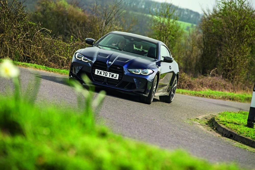 テスト車:BMW M4コンペティション