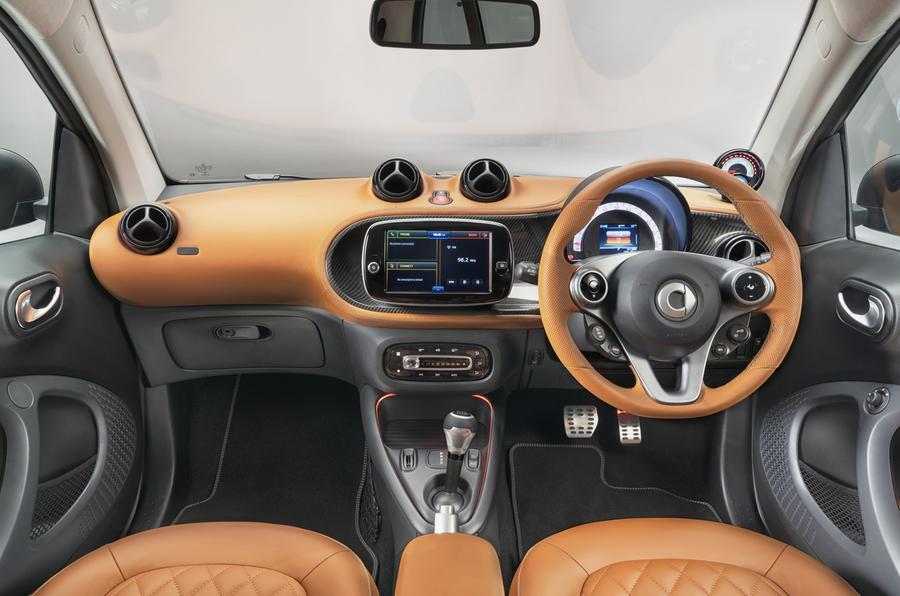 スマートEQフォーツーの特別仕様車「レーシング・グリーン・エディション」