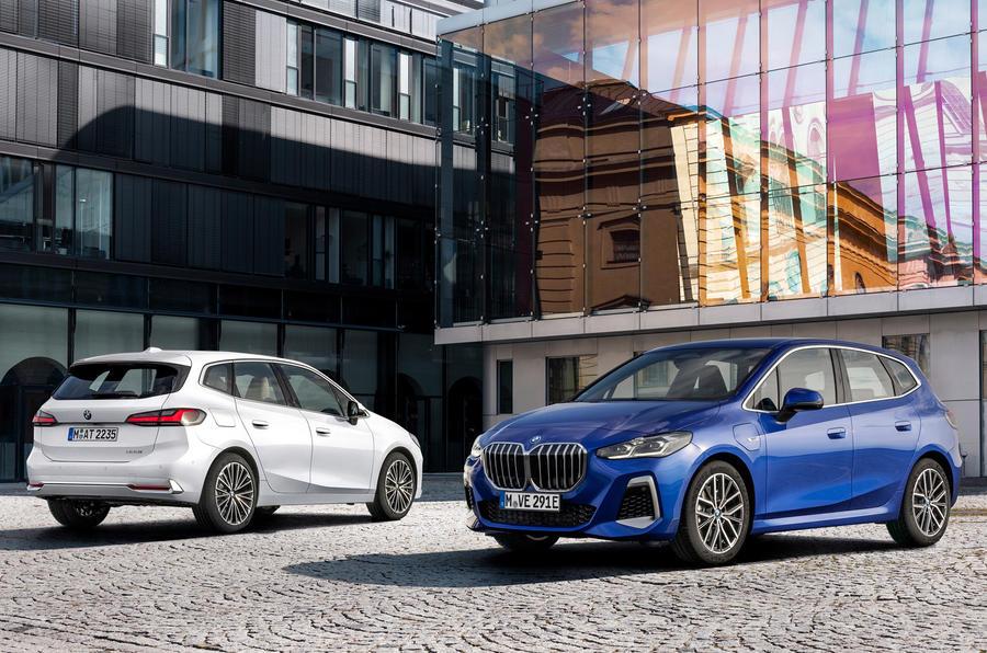 新型BMW 2シリーズ・アクティブツアラー