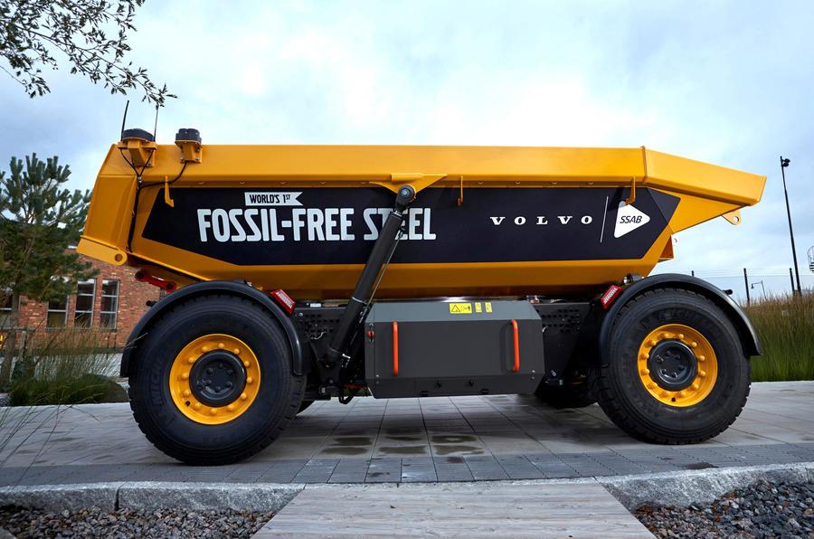 ボルボが発表した化石燃料フリーの新車両